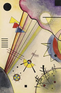 kandinsky, wassily deutliche ve     abstract     sotheby's l17002lot6qts9en