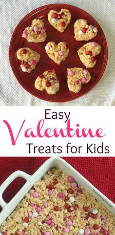 easy valentine treat for school party and easy valentine snack idea