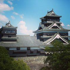 Kumamoto castle #castle #kumamoto #japan by ocean_jasmine_jpn