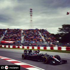 #Repost @mclaren  Mega crowds in Montreal.  #CanadianGP #McLarenHonda #F1