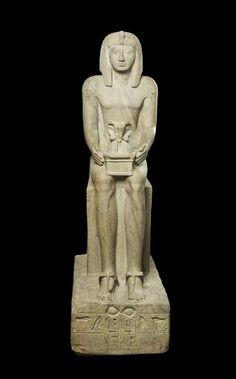Statue assise de Sethi II - PÉRIODE: règne de Séthi II (1200-1194). LIEU DE…