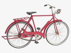 PEDDLE Red decorative bike