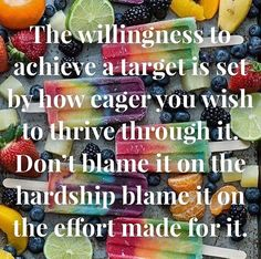 The willingness to achieve a target is set by how eager you wish to thrive through it. Dont blame it on the hardship blame it on the effort made for it. Follow @wealthlilyhealthy - Credit to the photographer  - #nutrition #nutritionist #nutritional #nutritioncoach  #nutritiongoals #fitness #fitnessmotivation #fitnesslife #fitnessgoals #fitnessgirl #sport #sporty #health #healthylifestyle #healthyfood #healthyeating #healthybreakfast #healthy #healthyeats #healthcoach Health Coach, Blame, Effort, Healthy Lifestyle, Fitness Motivation, Target, Healthy Eating, Nutrition, Sporty