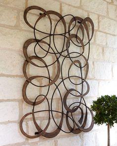 resultado de imagem para esculturas de arte abstrata - Metal Wall Designs