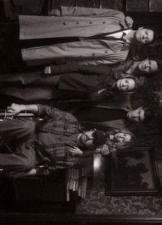 Supernatural - Starring: Jared Padalecki (Sam Winchester), Jensen Ackles (Dean Winchester), Jim Beaver (Bobby Singer), Samantha Ferris (Ellen Harvelle), Alona Tal (Jo Harvelle), Misha Collins (Castiel)
