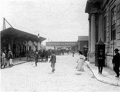 Lisboa de Antigamente: Antiga Estação dos Caminhos-de-ferro e Vapores do ...