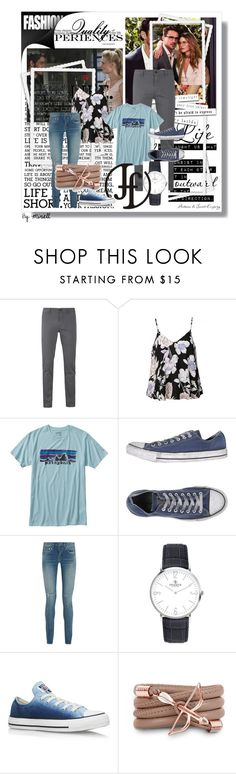 """Franco Florenzi"" by gold-phoenix ❤ liked on Polyvore featuring Once Upon a Time, BOSS Orange, Ally Fashion, Patagonia, Converse, Yves Saint Laurent, Monza and francoflorenzi"