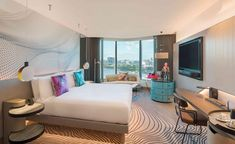 The W hotel opens in Brisbane | Wallpaper* W Hotel, Hotel Guest, Park Hotel, Les Bons Coins, Australia Hotels, Queensland Australia, Hotel Branding, House Made, Hotel Reviews