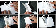 make your own pop up holiday cards - tutorial by Robert Sabuda on Apartment Therapy
