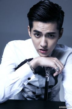 WU YI FAN-- okay now you're just trying to kill me!