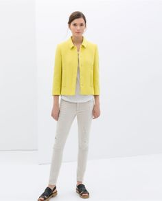 Image 1 of STRUCTURED JACKET from Zara