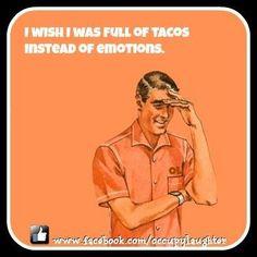 i love tacos.