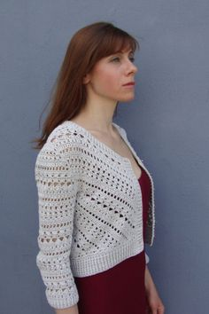 Crochet jacket PATTERN, crochet TUTORIAL in English