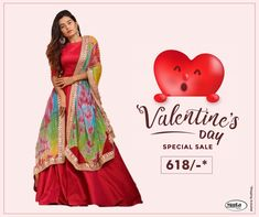 Get Valentine's Day ready without spending thousands of bucks. Check Valentine's Day offers now. Valentine Day Offers, Valentine Day Special, Formal Wear, Casual Wear, Formal Dresses, Online Shopping For Women, Online Fashion Stores, Sale Of The Day, Textile Market