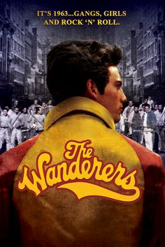 """The Wanderers"". Directed by Phillip Kaufman (""The Right Stuff""). Starring Ken Wahl and Karen Allen. Terrific forgotten film!"