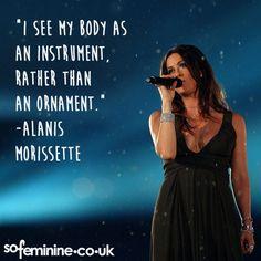 Inspirational Feminist Quotes: Alanis Morissette