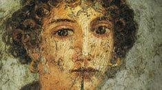 Un poema de Safo recién descubierto. Retrato de Safo de Lesbos, según atribuciones. (ABC)