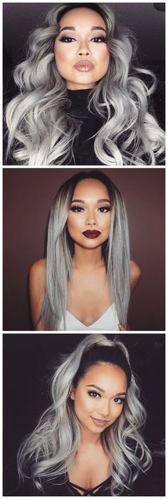 Buy high quality human hair weaves and hair extensions at sis hair online shop. Virgin hair, remy hair, ombre hair, lace closure, wigs & clip-in hair. Weave Hairstyles, Pretty Hairstyles, Straight Hairstyles, Brunette Hairstyles, Fringe Hairstyle, Casual Hairstyles, Medium Hairstyles, Latest Hairstyles, Grey Hair Weave