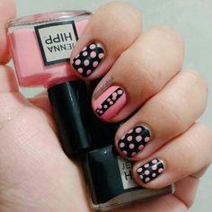 Sencillo pero me gusto  #JennaHipp #NailPolish #Nails #NailPolishAdict #NailArt