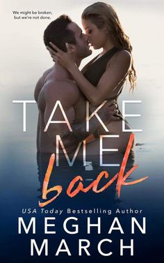 WOW! Check out Meghan Marchs Cover Reveal For Take Me Back! PreOrder Yours Today  COVER REVEAL I am thrilled to share the cover to my next book with you! Take Me Back releases March 20 2017! What do you think?? Special thanks to Sara Eirew Photography for the beautiful photograph and Sommer Stein of Perfect Pear Creative Covers for the amazing design! You both ROCKED it! About Take Me Back: From USA Today bestselling author Meghan March comes a hot new standalone romance all about second…