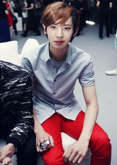 120524 World of Calvin Klein in Seoul - CHANYEOL V: EXO-E.T.TEAM