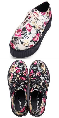911318dd56 6 8242  platform ladder harajuku style bohemia print shivering platform  women 8217 s casual shoes  a  platform  mounted  on  runners  platform  61   grand ...