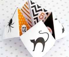 Blank Template For Cootie Catcher  Catcher Template And Paper