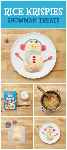 Inside Fun! The best way to enjoy cold weather is in a warm kitchen making delicious Rice Krispies Treats! All it takes are three easy ingredients and some creativity to make a simple indoor activity great family fun. With Rice Krispies, craft delicious snacks and make any day a treat!
