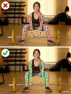 15 Workout Mistakes That Can Be Dangerous for Your Health - Whats Trend Gym Tips, Gym Workout Tips, Butt Workout, Workout Videos, At Home Workouts, Sport Fitness, Body Fitness, Physical Fitness, Fitness Tips