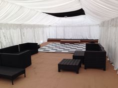 Gala Tent marquee ready for a garden party