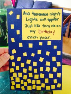"""Tangled  DIY Birthday card! Completed with lyrics from """"When will my life begin"""""""