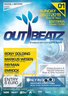 OUTBEATZ – THE OPEN MINDED OPEN AIR Vol.01