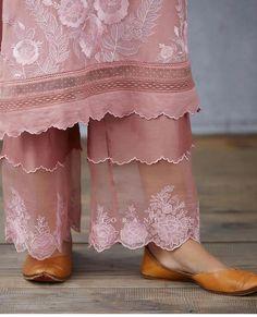 Tailoring Techniques, Anarkali Kurti, Punjabi Suits, Summer Wear, Fashion Pants, Lace Skirt, Skirts, How To Wear, Inspiration