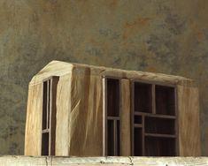 Michele De Lucchi: Architekturchen at Ingo Maurer - Dezeen Wood Architecture, Amazing Architecture, Architecture Details, Architecture Models, Exhibition Models, Everything Is Illuminated, Ingo Maurer, Arch Model, Home Art