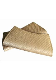 Off white Banarasi silk clutch with golden work. Surreal. By Shopanthropic @76Hudson
