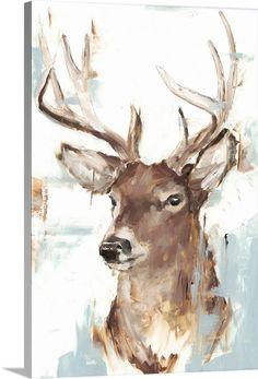 Painting Prints, Art Prints, Framed Prints, Canvas Prints, Deer Paintings, Colorful Animal Paintings, Abstract Animal Art, Watercolor Deer, Deer Wall Art