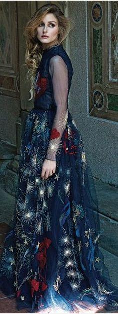 Olivia Palermo in Valentino