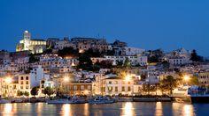 Dalt Vila in Ibiza, Spain