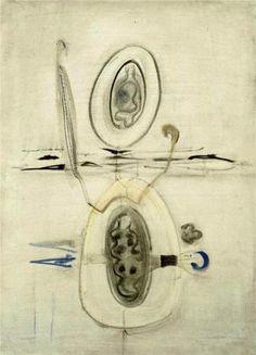 Untitled - Mark Rothko, 1940, Style: Surrealism