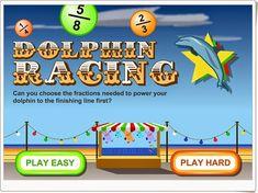 """""""Dolphin Raging"""" (Ordenación de fracciones)"""