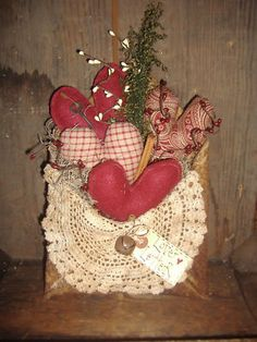 Primitive Valentine Heart