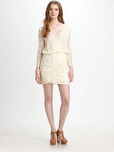 Rebellion Lace V-Neck Dress