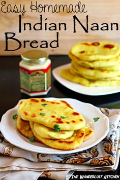 How To Make Indian Naan Bread...http://homestead-and-survival.com/how-to-make-indian-naan-bread/