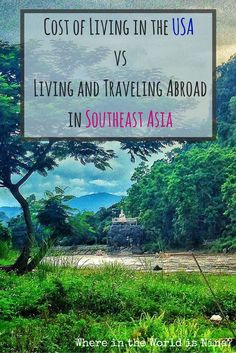 If you think traveling and living abroad is pricey, let me show you why it's NOT! Especially in Southeast Asia... I lived and traveled the region for cheaper than it cost to live and have fun in the USA... Here's the breakdown!