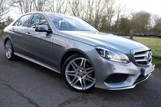 used Mercedes E220 CDI AMG SPORT in surrey
