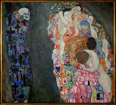 Gustav Klimt - Life and Death