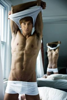 I'm sorry Zac Efron I'm too old for you...well maybe not.