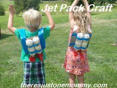 There's Just One Mommy - how to make a jet pack