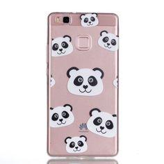 Coque Huawei P9 Lite Visage panda