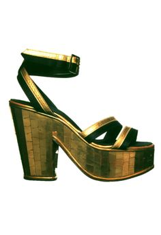 desimonewayland: Sandal designed by Salvatore Ferragamo for...